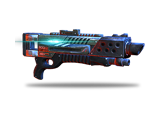 Shotgun that deals tremendous close-range damage.