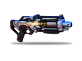 The Eviscerator is a longer-range shotgun.