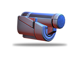 Ammo blows through thin walls and some enemies for contact with multiple targets. Effective against armor.