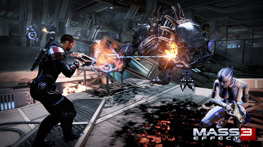 mass effect 3 how to take contol of cerberus mechs