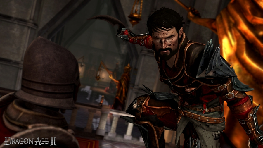 Dragon Age II Three Act Structure